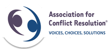 Logo for the Association for Conflict Resolution