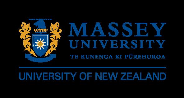 Logo for Massey University, New Zealand