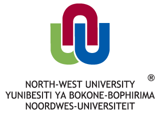 Logo for North-West University, South Africa