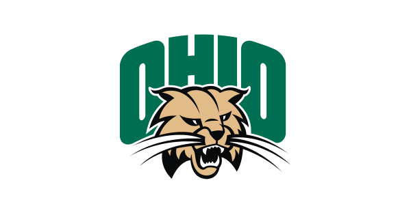 Logo for The University of Ohio, Athens, with roaring bobcat