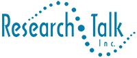 Logo for Research Talk, Qualitative Consulting