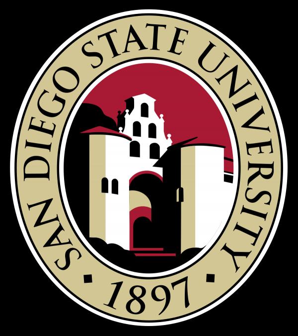 Logo for San Diego State University, 1897